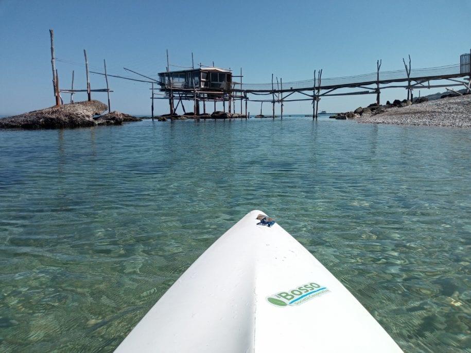 kayak ortona costa dei trabocchi