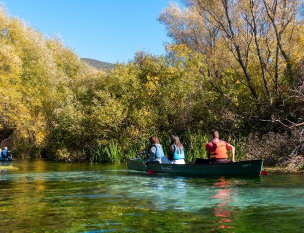 canoa autunno